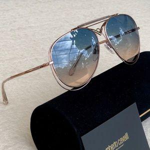 ROBERTO CAVALLI 57mm aviator sunglasses